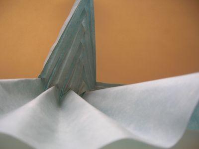tuto origami abstrait