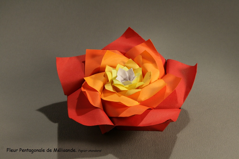17c2f6e176e Fleur En Pliage Excellent Origami Facile Fleur Kisidama Pliage Diy