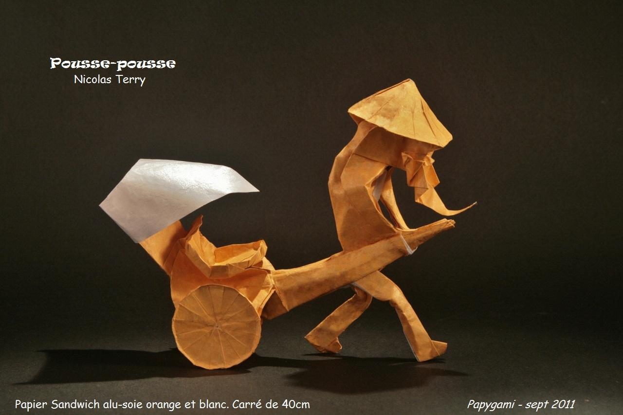 cygne bien expliqué en origami